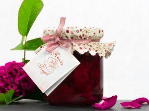 Kistermelői rózsaszirom kompót